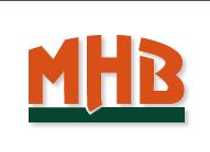 Unternhemenslogo der MHB mbH
